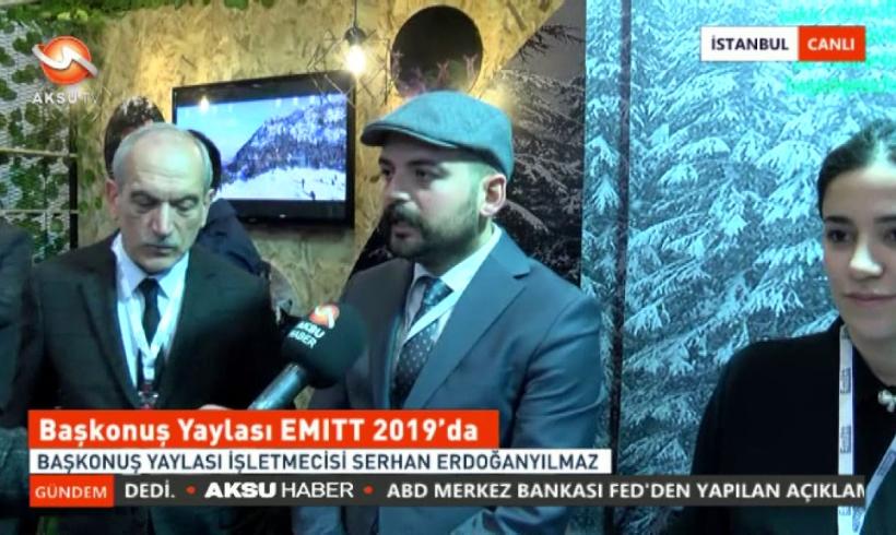 Başkonuş Yaylası EMITT 2019'da