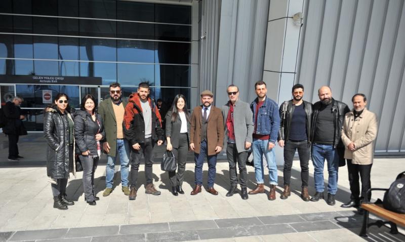 Türkler Geliyor; Adaletin Kılıcı'nın oyuncuları Başkonuş Yaylası farkıyla Kahramanmaraş'ta!