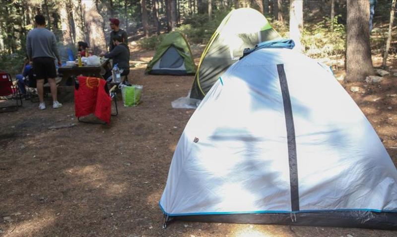 Kamp tutkunlarının adresi 'Başkonuş Yaylası'na ilgi Kovid-19 sürecinde 3 kat arttı